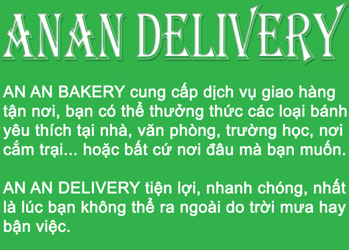 ANAN Delivery